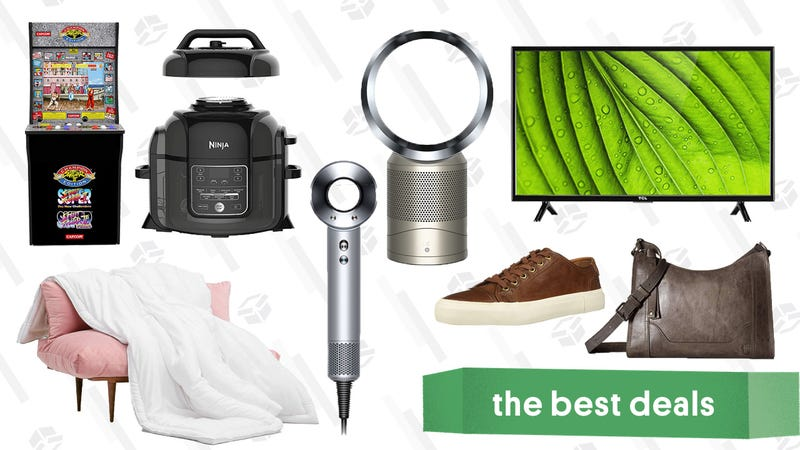 Illustration for article titled Tuesday's Best Deals: Ninja Foodi, Buffy Comforters, Everything Dyson, and More
