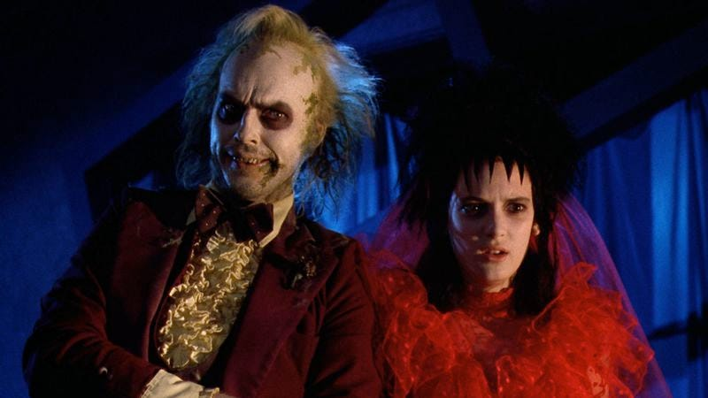 """Illustration for article titled Tim Burton says """"Yeah"""" to a Beetlejuice sequel with Winona Ryder"""