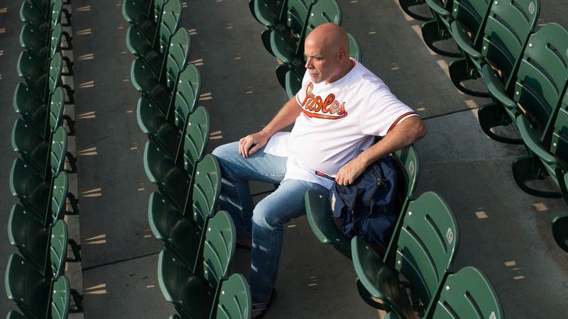 Illustration for article titled Orioles Creeped Out By Fan Who Followed Them To Spring Training