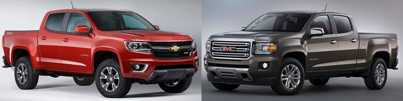 canyon 2015 vs colorado 2015 comparasion autos post. Black Bedroom Furniture Sets. Home Design Ideas