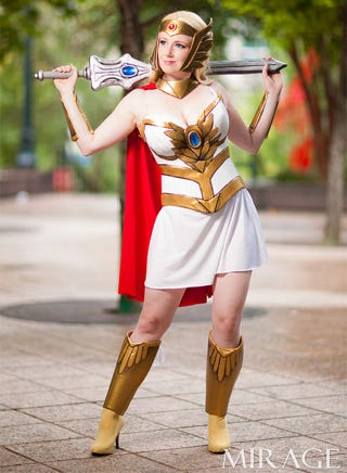 Illustration for article titled She-Ra Cosplay!