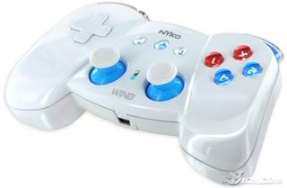 Illustration for article titled The Nyko Wing Looks Better than the Wii Classic Controller It's Knocking Off