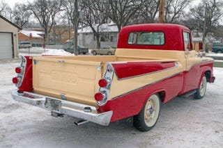 Illustration for article titled Chrysler's 1958 Station Wagon-Styled Pickup Truck