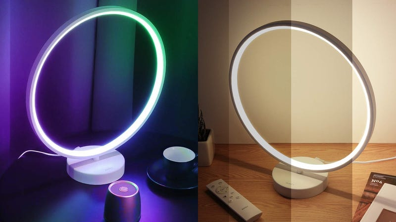 Aukey Circle Table Lamp | $42 | Amazon | Promo code VSVGACI3