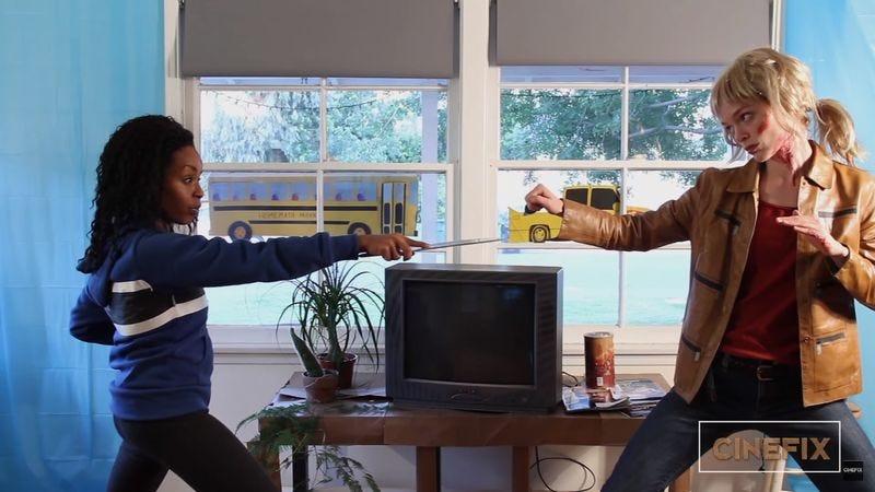 Kill Bill: The Bride Vs. Copperhead Fight (Screenshot: YouTube)