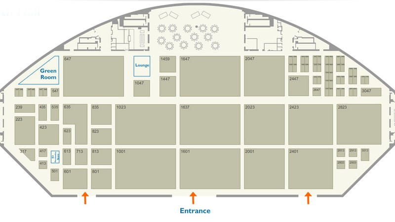 Illustration for article titled Get Your E3 2011 Floorplan Maps Right Here!