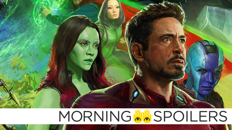 Illustration for article titled Avengers 4Set Pictures Tease More Hints About Tony Stark's Future
