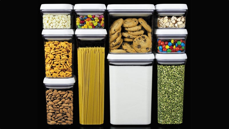 OXO Good Grips 10-Piece Airtight Food Storage Set | $70 | Amazon