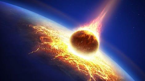 Resultado de imagen para meteorito en forma de corazón