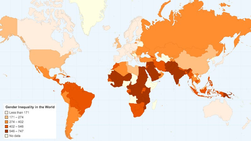 gender inequality in the world Economic inequality by gender  this entry presents the evidence on global economic inequality  global inequality between world citizens and its.