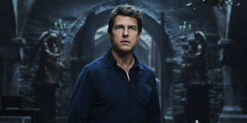 Tom Cruise has a dark future in the future of the Dark Universe. All Images: Universe