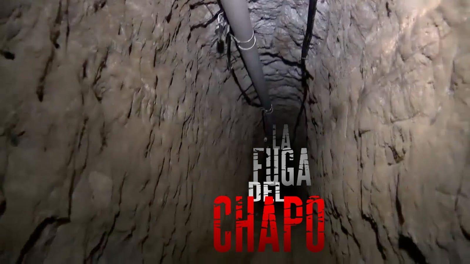 """Grabado en vídeo el momento exacto de la fuga de """"El Chapo"""" Guzmán"""