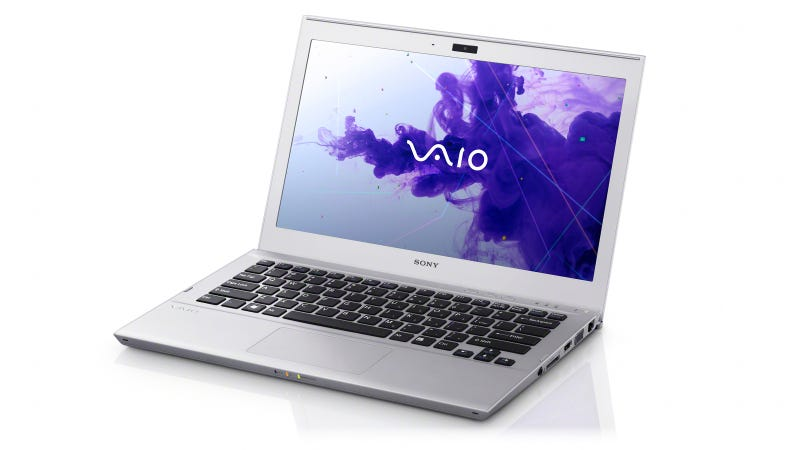Illustration for article titled Sony Vaio T Series Hands On: Dancing with Last Year's Prom Queen