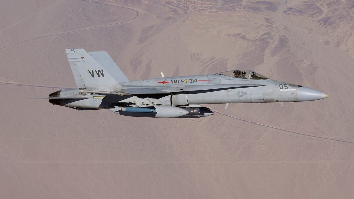 U S  Marines Will Keep The Harrier Around Longer As Hornet