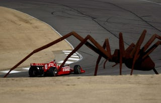 Illustration for article titled Giant Spiders Invade IRL Spring Testing