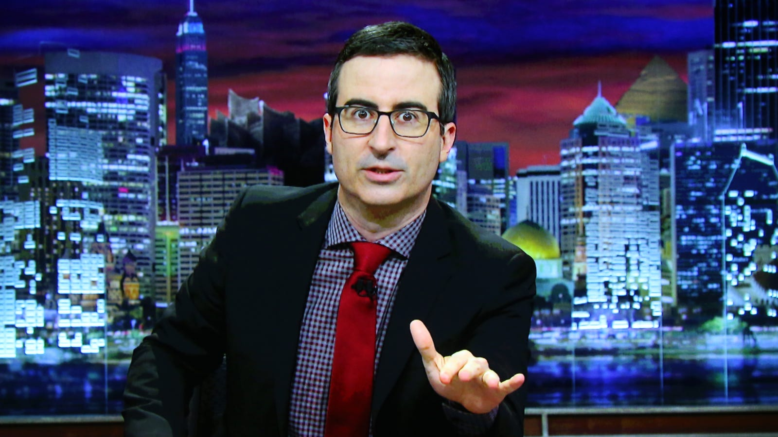 Judge tosses out that defamation lawsuit against HBO and John Oliver