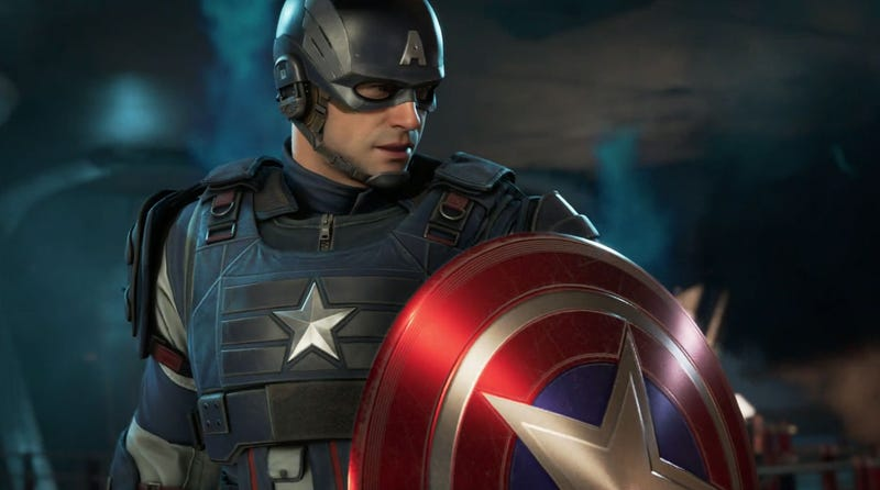 Illustration for article titled Our First Look At The New Avengers Video Game