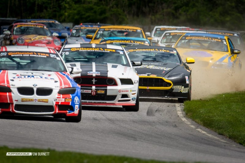 Illustration for article titled Photo Set: IMSA Continental Tire & Porsche GT3 Cup At Lime Rock
