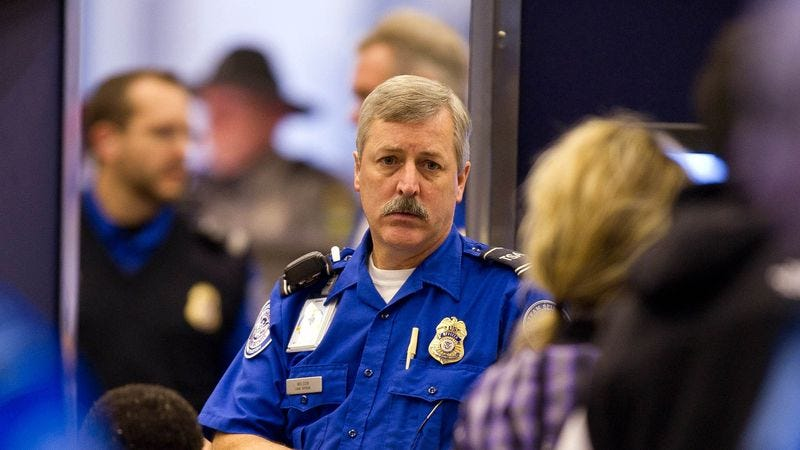 Illustration for article titled TSA Agents To Now Simply Stand At Checkpoints And Remind Passengers That We All Die Someday