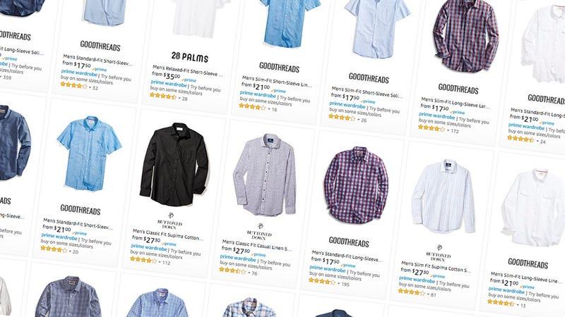 Hasta un 40% de descuento en camisas para hombre | AmazonImagen: Amazon