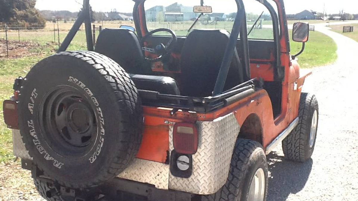 For $3,750, Could This 1978 Jeep CJ-5 Be Your New Summer Love?