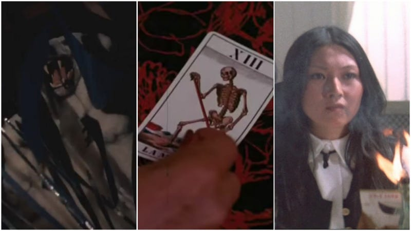 L to R: Wild Beasts, The Astrologer, Stray Cat Rock: Sex Hunter. (Screenshots: YouTube)