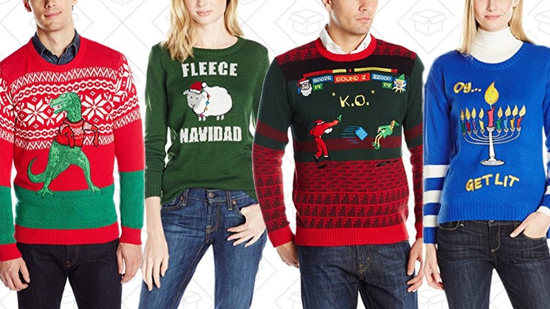Up to 60% off Festive Holiday Sweaters & More