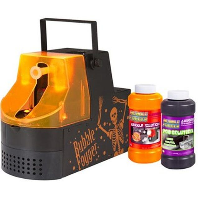 Halloween Fogger fitco low lying ground fogger fog machine 400w Halloween Fog Machines Been There Inhaled That Bubble Machines Still Pretty Cool Soap In The Eye Or Not But What If Humanity Had Created A Machine