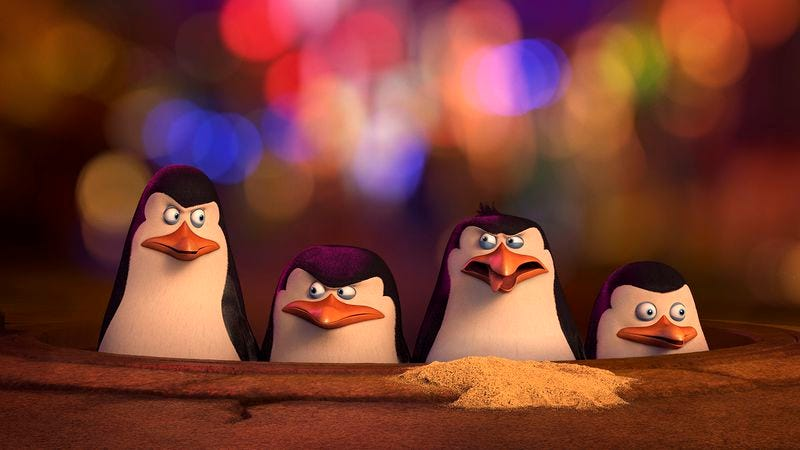 Illustration for article titled Penguins Of Madagascar is DreamWorks Animation at its most amusingly energetic