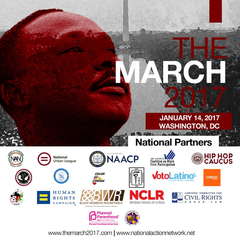 We Shall Not Be Moved: The March 2017National Action Network