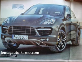 Illustration for article titled 2011 Porsche Cayenne Looks Busy, Angry, Smaller