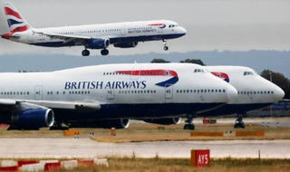 A former British Airways employee is convicted of bomb plot.