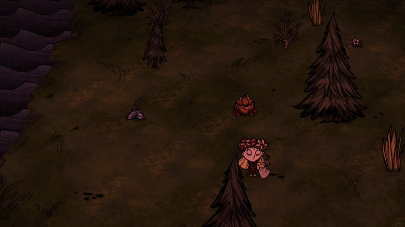 Illustration for article titled Dying as a Feature: Don't Starve and Impermanence (and Beefalo)