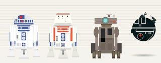 Compara todos los androides de Star Wars con esta genial infografía
