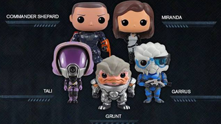 Illustration for article titled Oh god, Funko are doing Mass Effect Pop! Vinyls