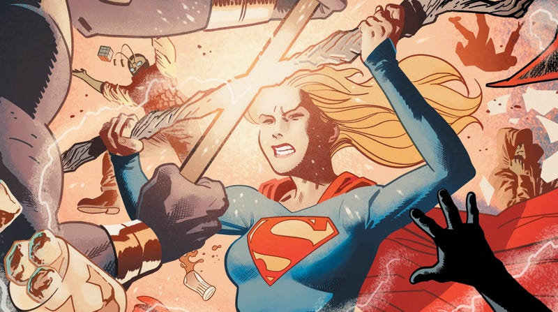 Illustration for article titled Supergirlsearches for answers to Krypton's mysteries in this exclusive