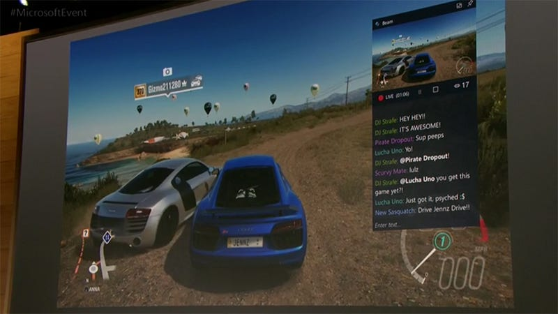 Illustration for article titled Windows 10 Gets Built-In Game Streaming This Spring