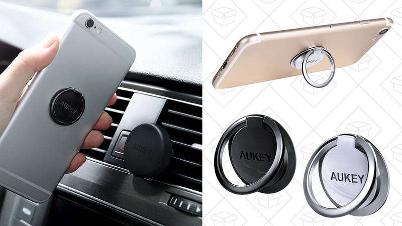 2-Pack Aukey Smartphone Rings, $7 with code AUKEYHP3