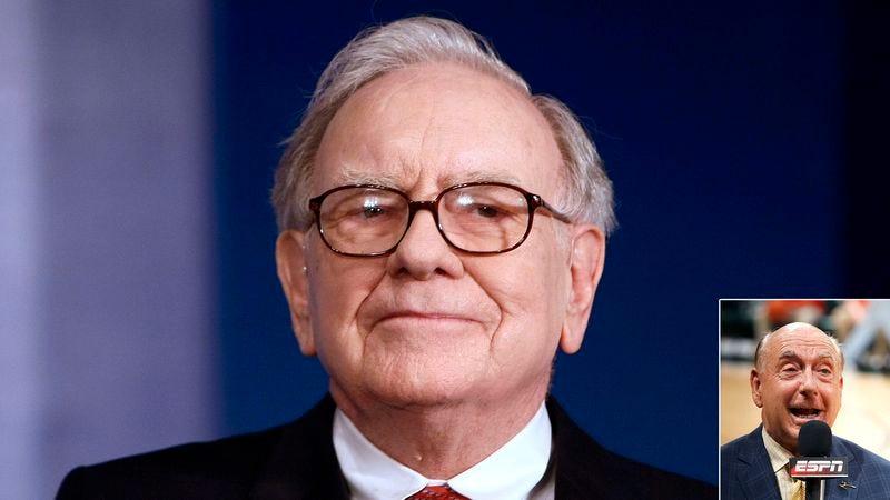 Illustration for article titled Warren Buffett Offers $1 Billion For Dick Vitale To Shut Up