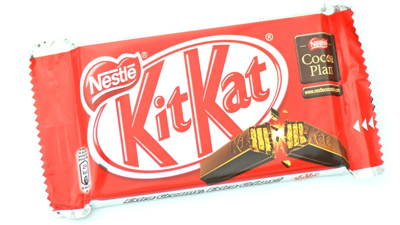 "Illustration for article titled EU: Kit Kat's ""four-finger"" bar may be iconic, but it's not a trademark"