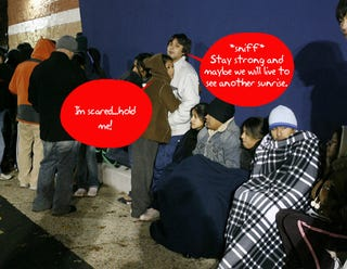 Illustration for article titled Question of the Day: How Long are You Willing to Wait in Line For Black Friday Deals?