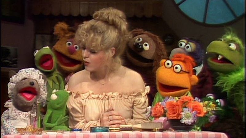 "Illustration for article titled The Muppet Show: ""Episode 211: Dom DeLuise""/""Episode 212: Bernadette Peters"""