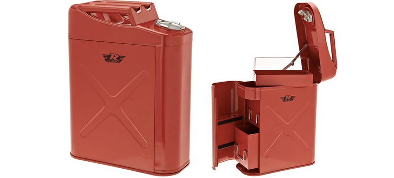 Illustration for article titled Be Prepared For Any Vehicular Emergency With a Gas Can Toolbox