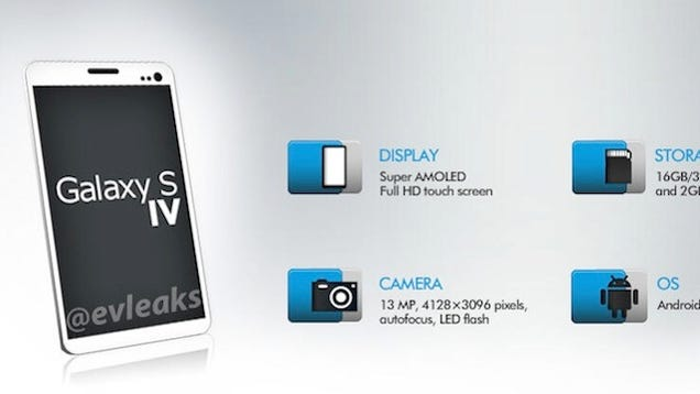 More Rumors about the Samsung Galaxy S (IV)