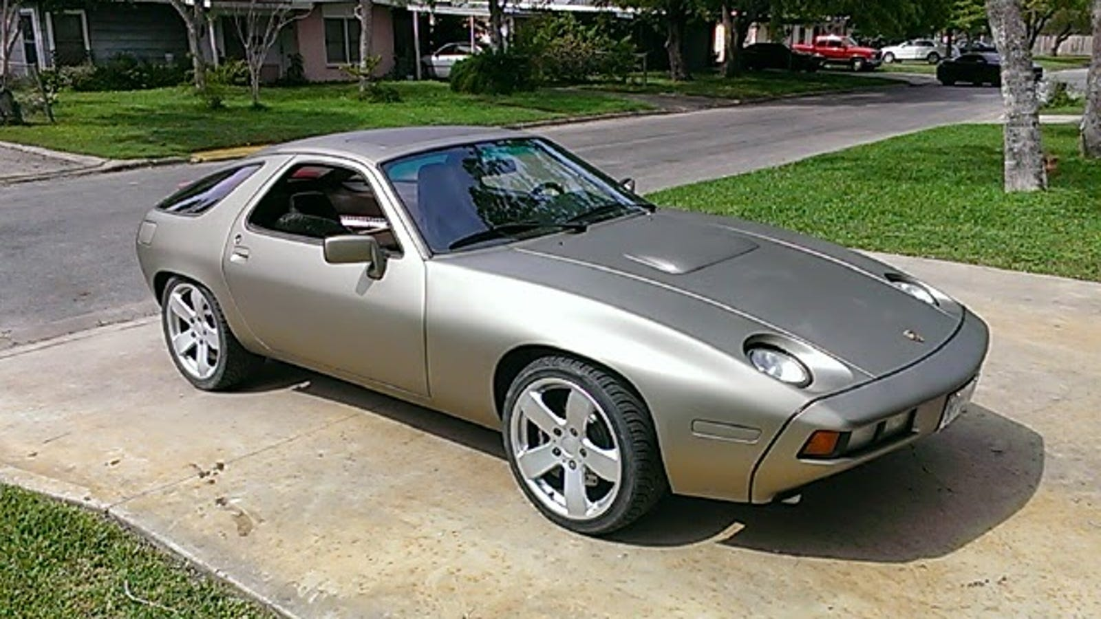 Somebody Built A Toyota V12 Powered Porsche 928 In Shed Build Engine Diagrams