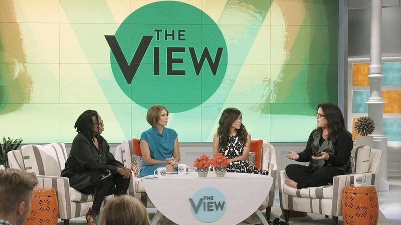 Whoopi Goldberg, Nicolle Wallace, Rosie Perez, Rosie O'Donnell