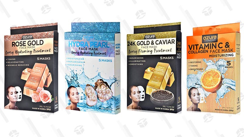 Azure Cosmetics Sheet Masks | $6-$8 | Amazon | Promo code AZKINJA47