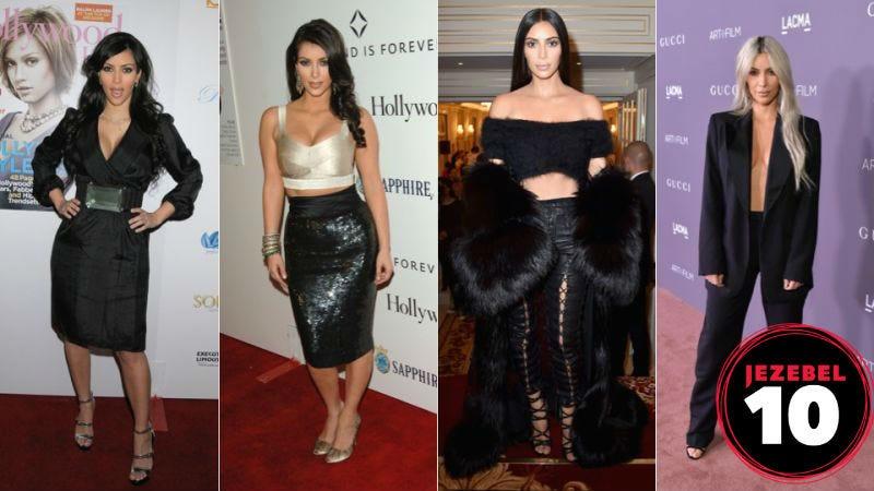 Kim Kardashian is BACK! Images via Getty
