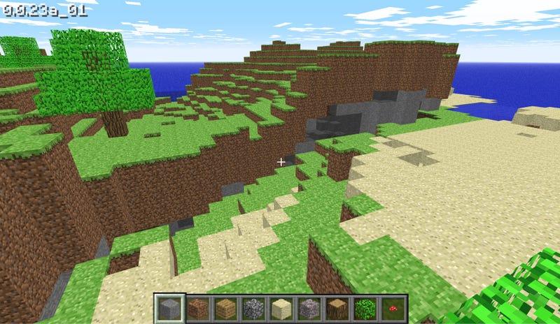 Illustration for article titled Ahora puedes jugar gratis al Minecraft original desde el navegador