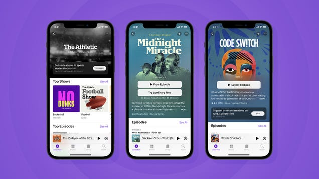Apple Basically Launched a Patreon for Podcasters